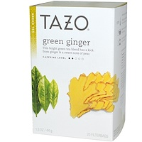 Green Ginger, Green Tea, 20 Filterbags, 1.5 oz (44 g) - фото