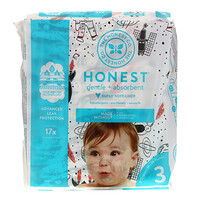 Honest Diapers, Size 3, 16-28 Pounds, Space Travel, 27 Diapers - фото