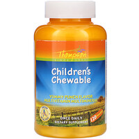 Children's Chewable, Yummy Punch Flavor, 120 Chewables - фото