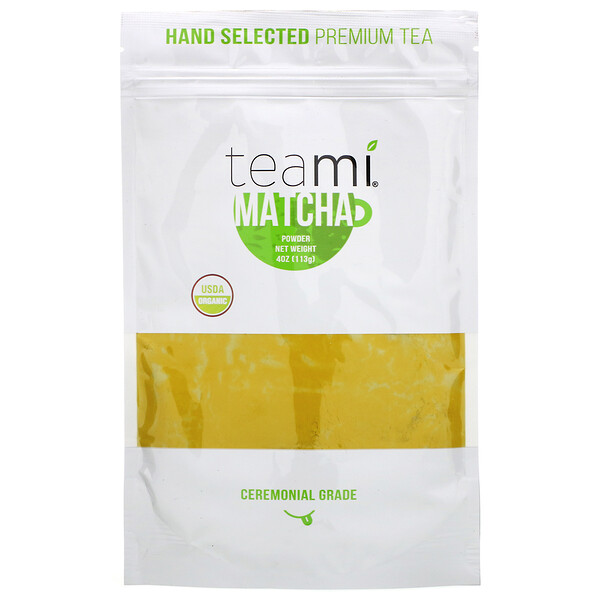 Teami, Organic, Matcha Powder, 4 oz (113 g)