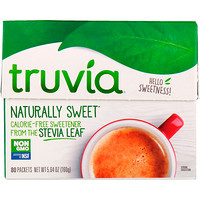 Naturally Sweet Calorie-Free Sweetener, 80 Packets, 5.64 oz (160 g) - фото