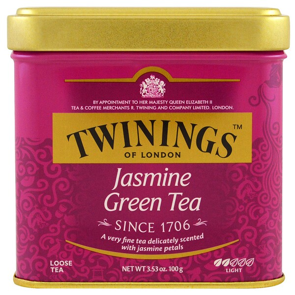Jasmine Green, Loose Tea, 3.53 oz (100 g)