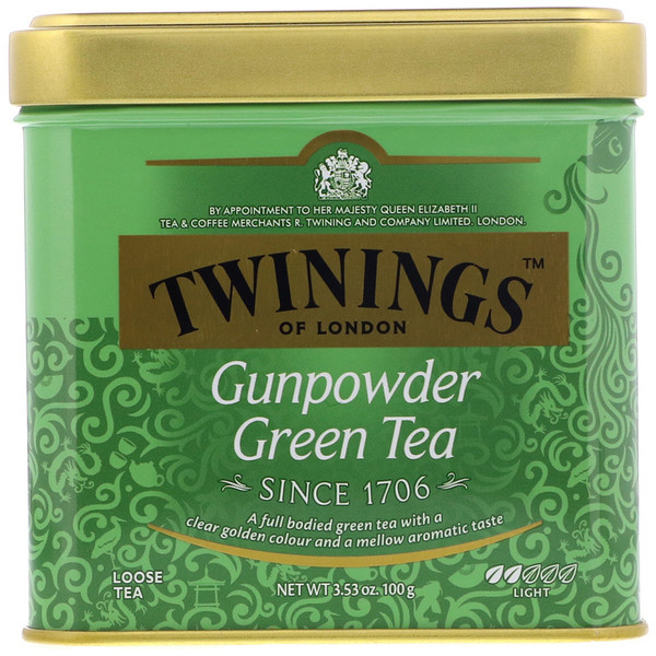 Twinings, Gunpowder Green Loose Tea, 3.53 oz (100 g) (Discontinued Item)