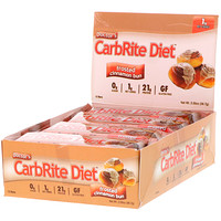 Doctor's CarbRite Diet, Frosted Cinnamon Bun, 12 Bars, 2.00 oz (56.7 g) Each - фото