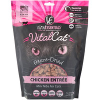 Vital Cat, Freeze-Dried Mini Nibs For Cats, Chicken Entree, 12 oz (340 g) - фото