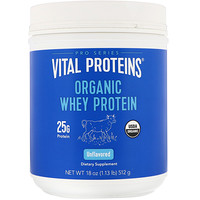 Organic Whey Protein, Unflavored, 18 oz (512 g) - фото
