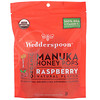 Wedderspoon, Organic Manuka Honey Pops, Raspberry, 24 Count, 4.15 oz (118 g)