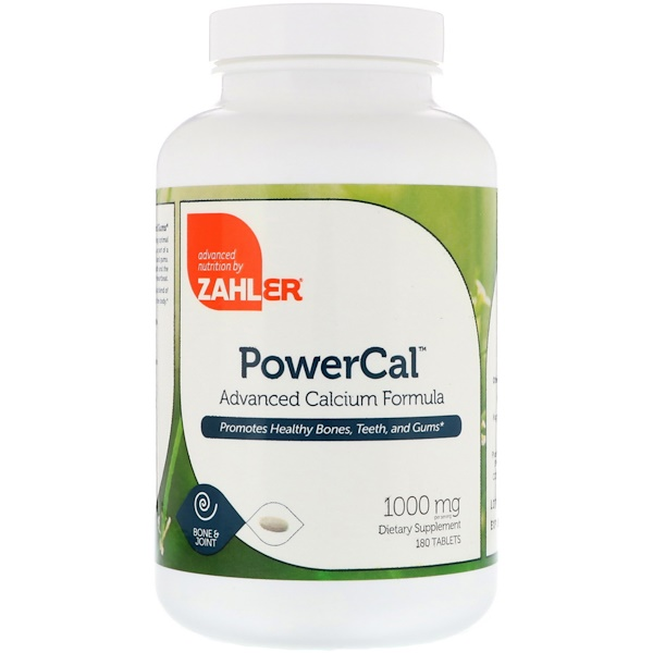 PowerCal, Advanced Calcium Formula, 1,000 mg, 180 Tablets