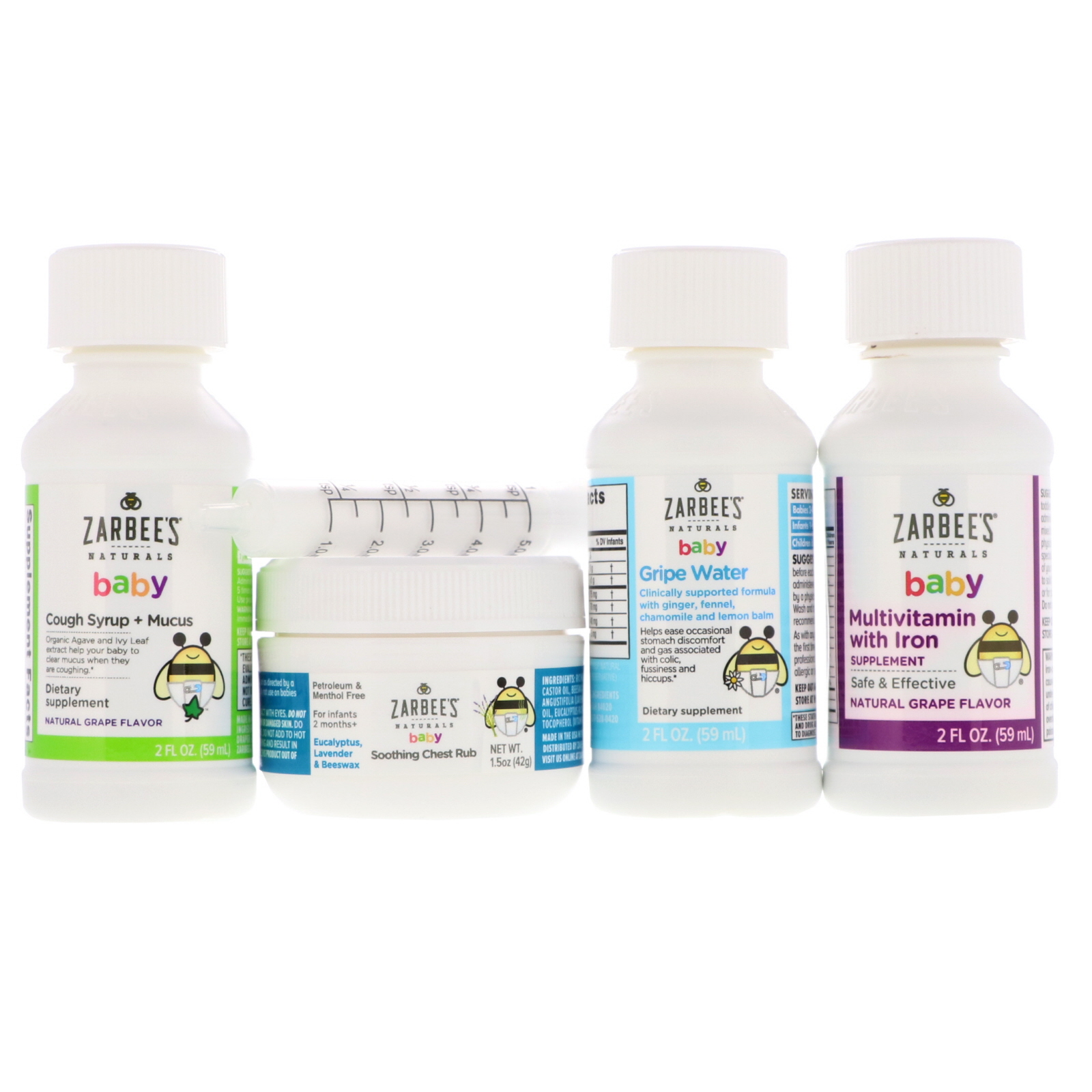 Zarbee S Naturals Baby Bee Prepared Kit Cough Syrup