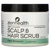 Zion Health, Deep Cleansing Scalp & Hair Scrub, Pear Blossom with Sea Salt, 4 oz (113 g)