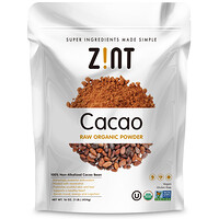 Raw Organic Cacao Powder, 16 oz (454 g) - фото