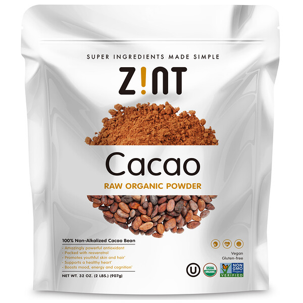 Raw Organic Cacao Powder, 32 oz (907 g)