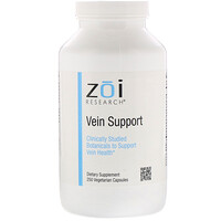 Vein Support, 250 Vegetarian Capsules - фото